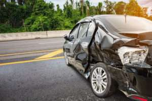 oxford automobile accident attorneys, picture of a smashed car