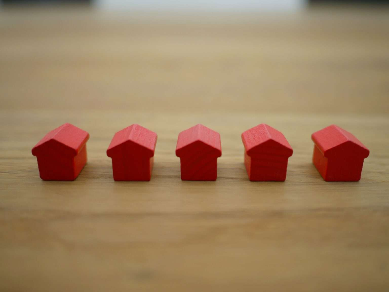 community of houses representing a home owners association